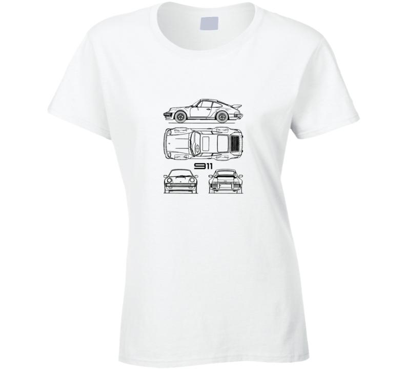 911 Ladies T Shirt