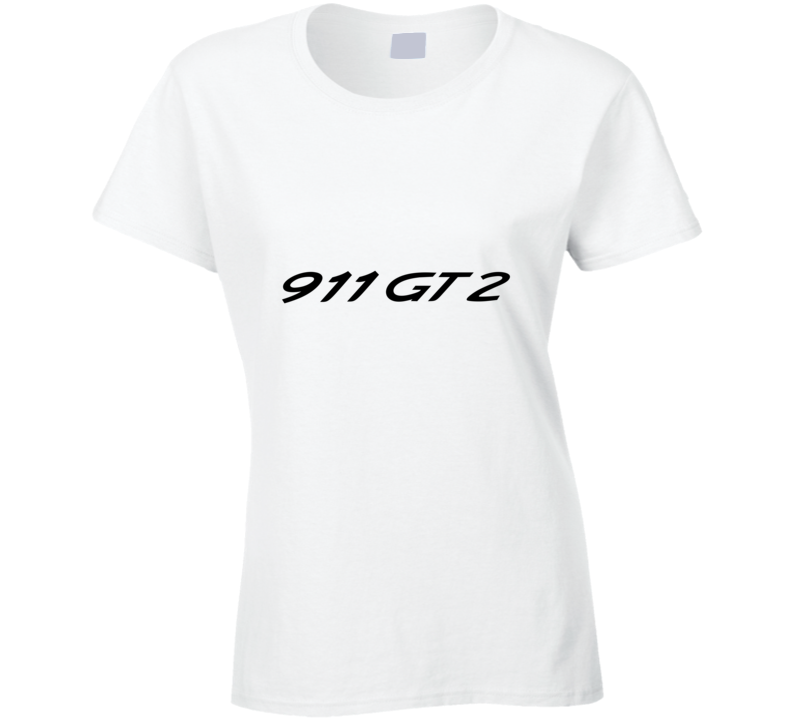 911 Gt2 Ladies T Shirt