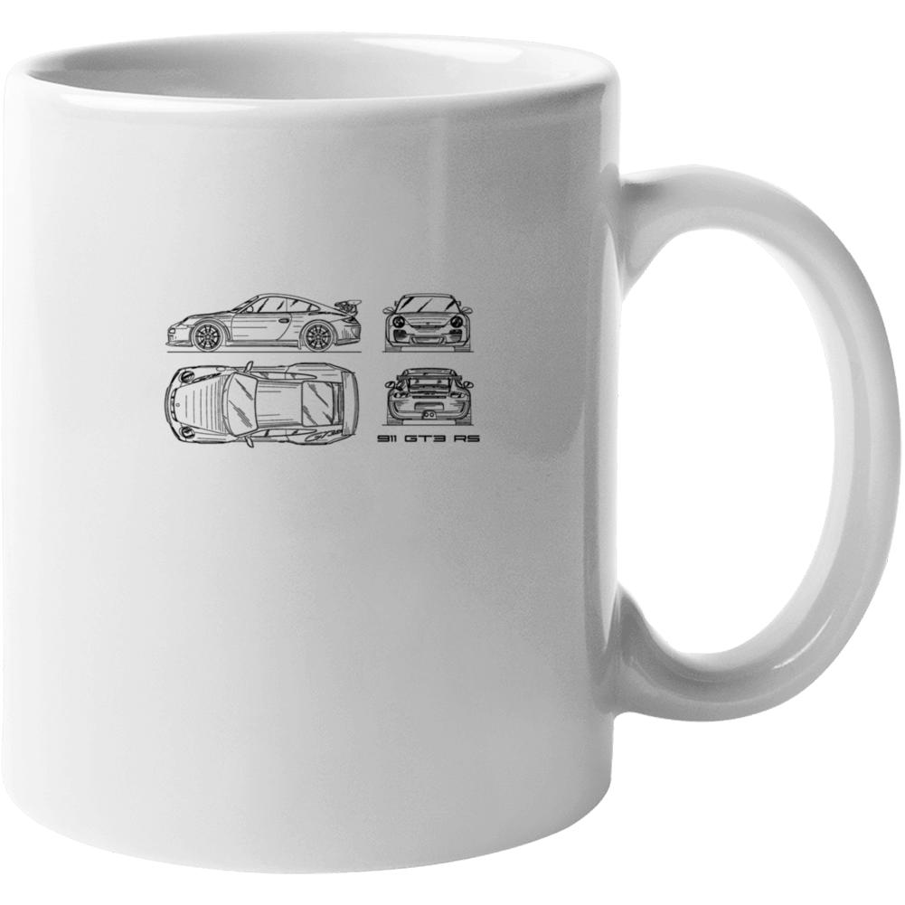 911 Gt3 Rs Mug