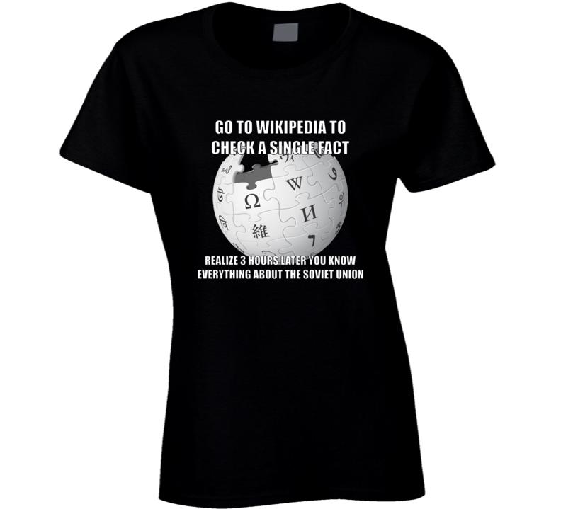 Fun Fact Ladies T Shirt