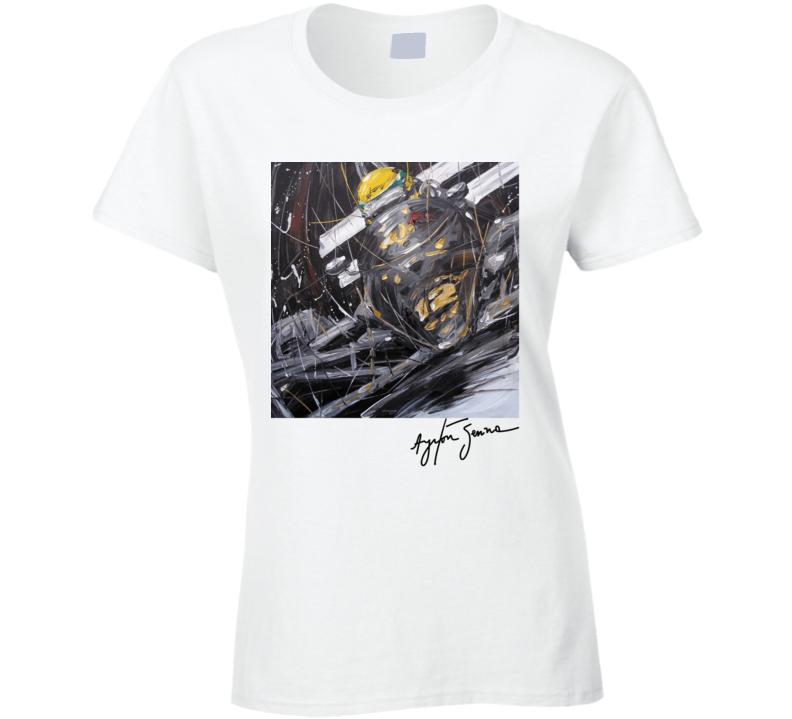 Senna Lotus Ladies T Shirt