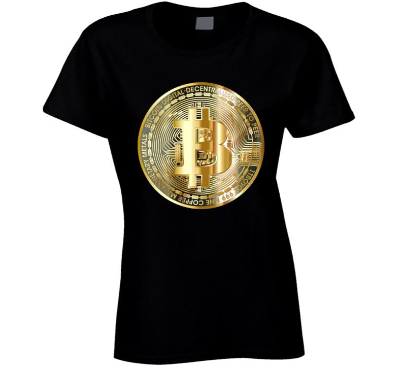 Bitcoin Ladies T Shirt