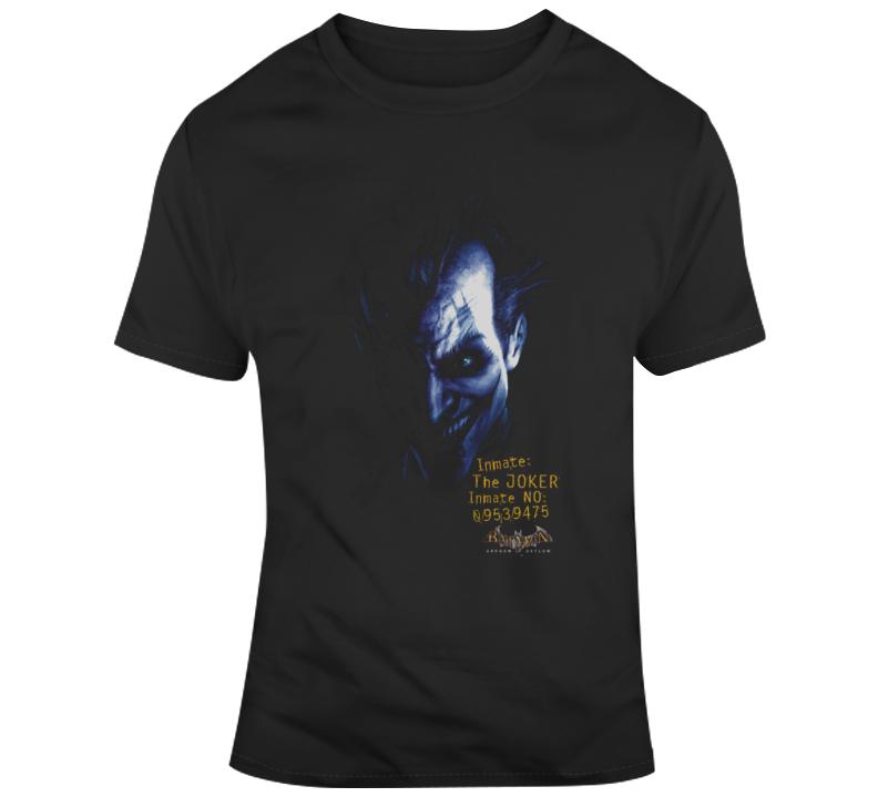 Inmate Joker T Shirt
