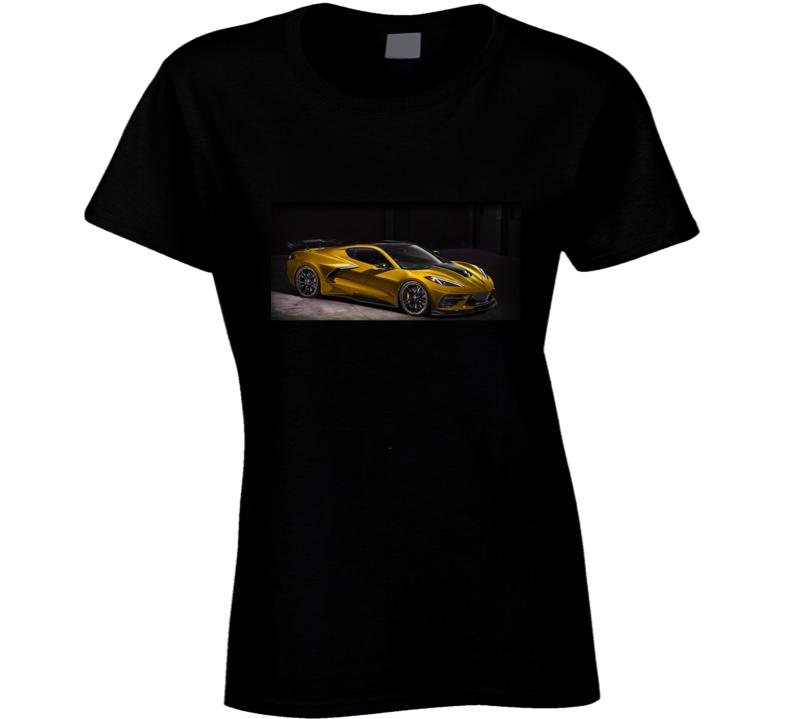 2020 C8 Corvette Ladies T Shirt