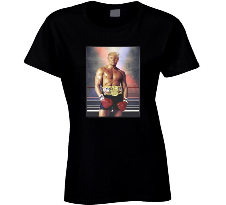 Rocky Trump Ladies T Shirt
