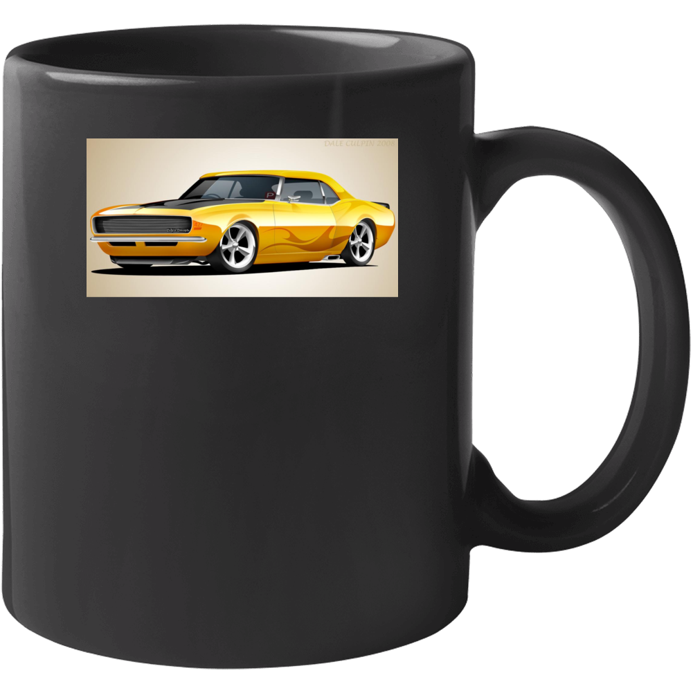 69 Ss Camaro Mug
