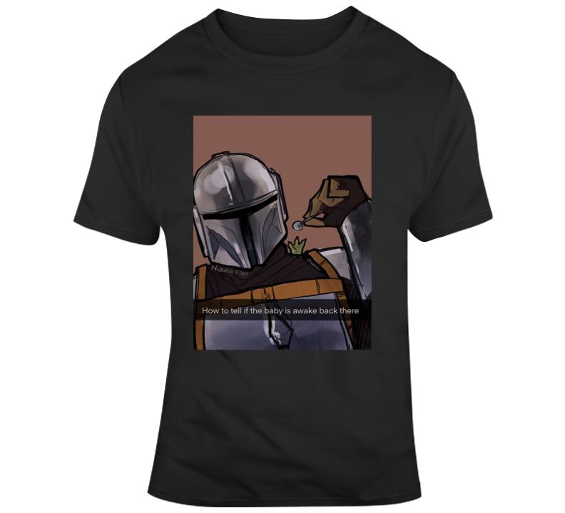 Mandalorian & Baby Yoda T Shirt