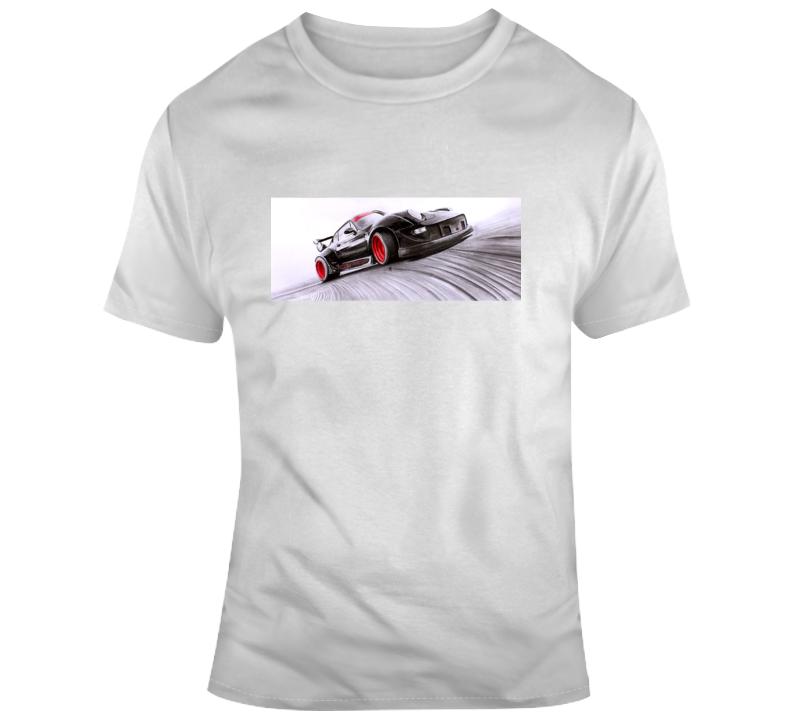 Porsche Drifting T Shirt
