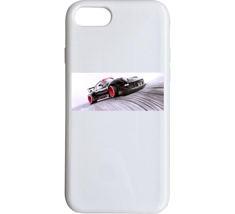Porsche Drifting Phone Case