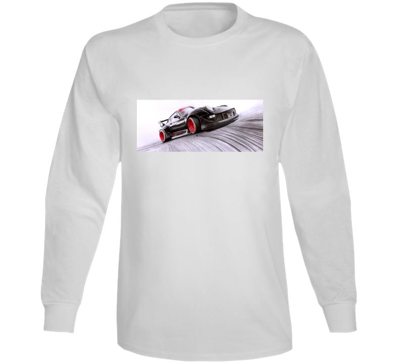 Porsche Drifting Long Sleeve