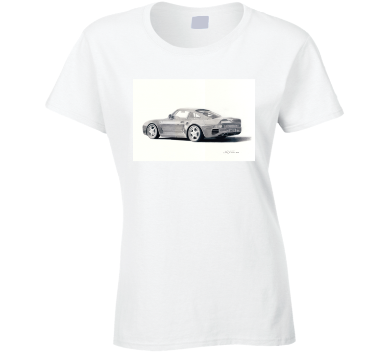 959 Porsche Ladies T Shirt