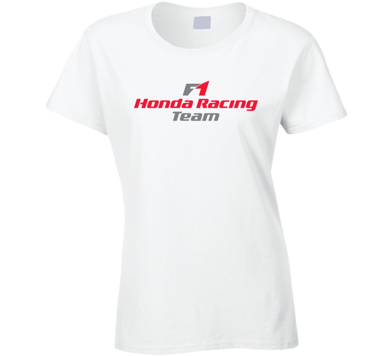 Honda Racing F1 Ladies T Shirt