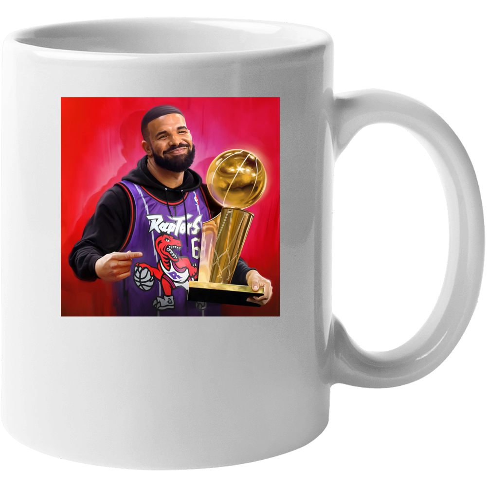 Drake Raptors Trophy Mug