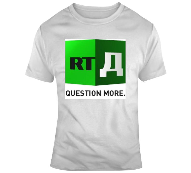 Rt News Question More T Shirt