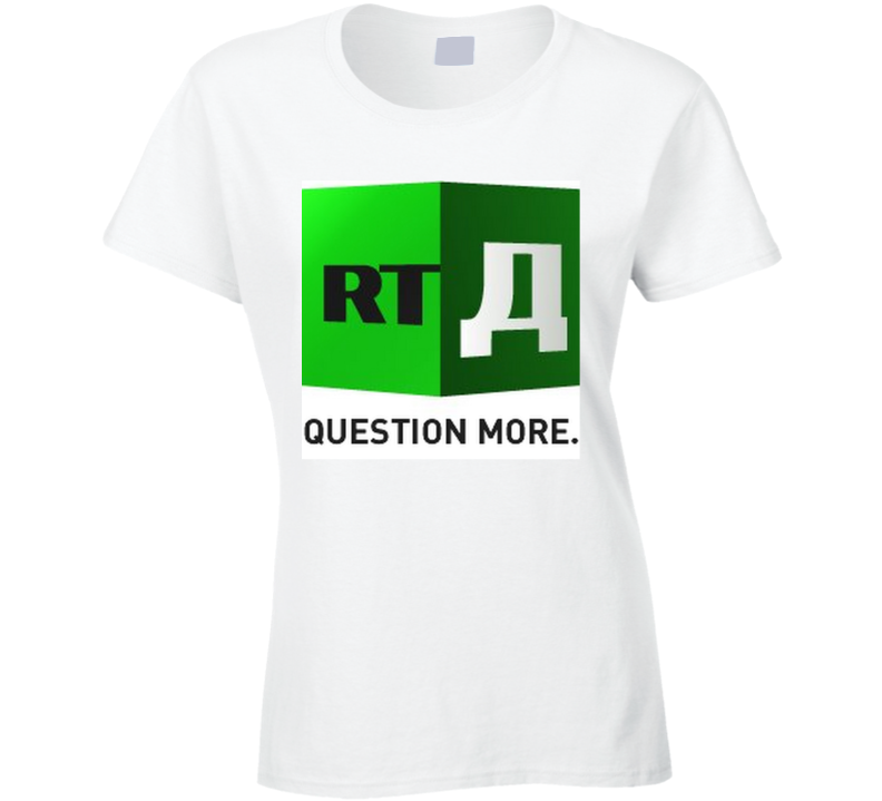 Rt News Question More Ladies T Shirt