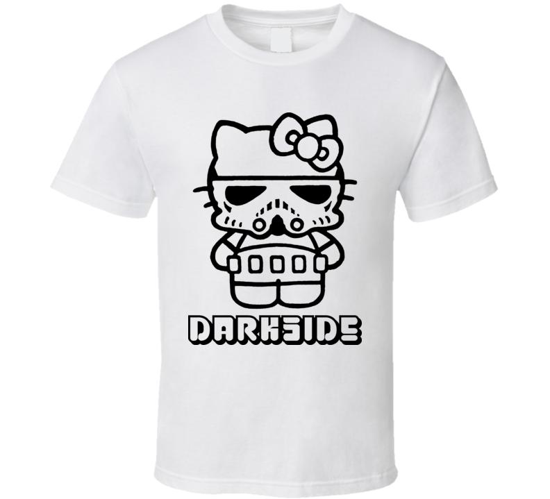 Hello Kitty Funny Star Wars Stormtrooper Parody T Shirt