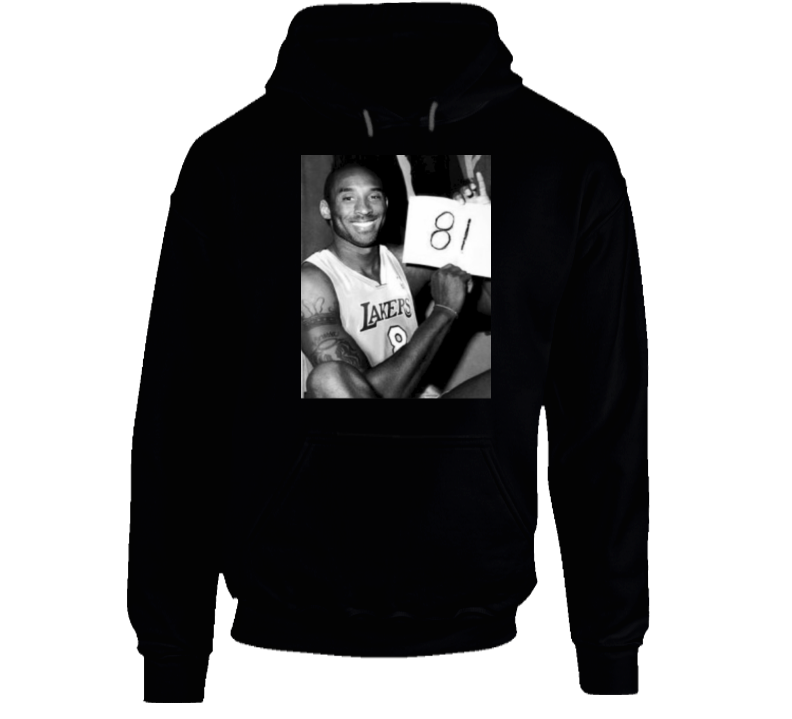Mamba Forever Kobe Bryant 81 Points Photograph Hoodie