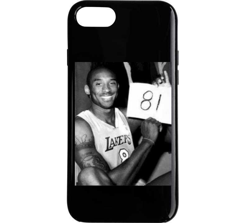 Mamba Forever Kobe Bryant 81 Points Photograph Phone Case