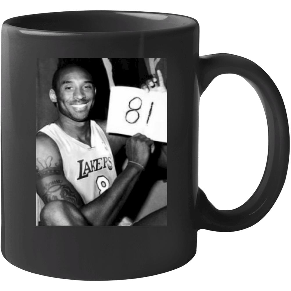 Mamba Forever Kobe Bryant 81 Points Photograph Mug