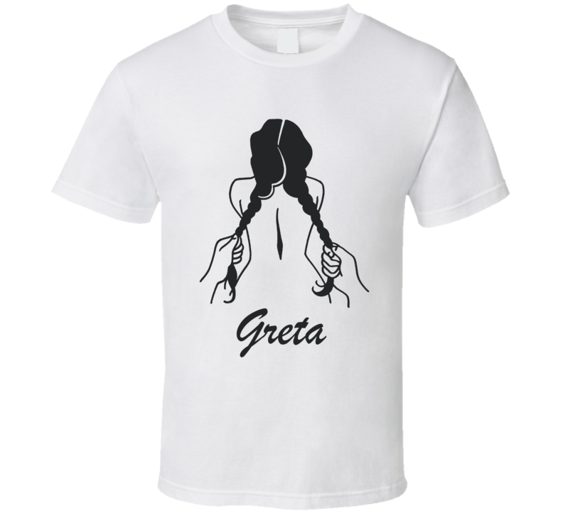Greta Thunberg Cartoon T Shirt