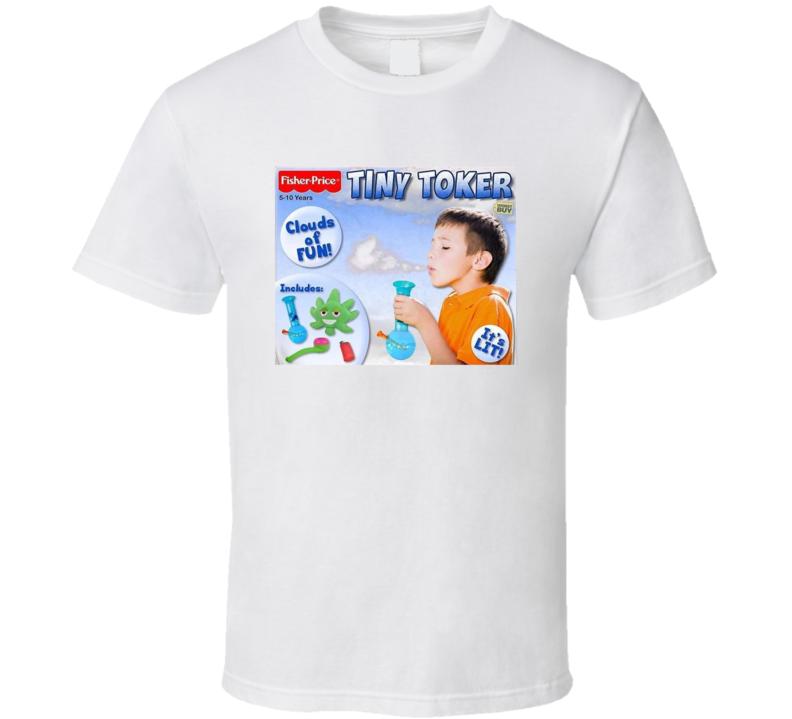 Tiny Toker Funny Game Parody Stoner Fan T Shirt