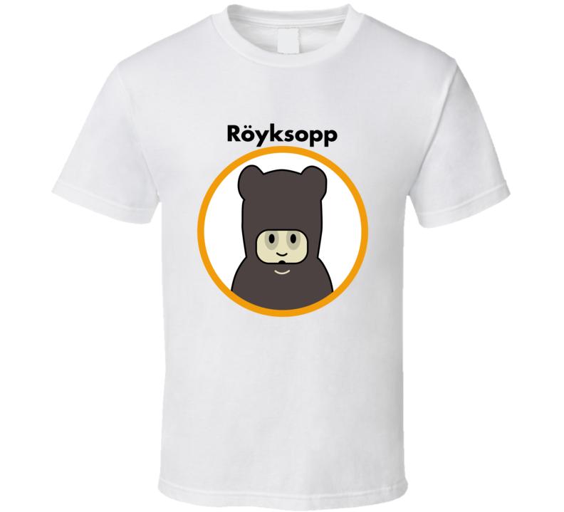 Royksopp Techno Music Group Cool T Shirt