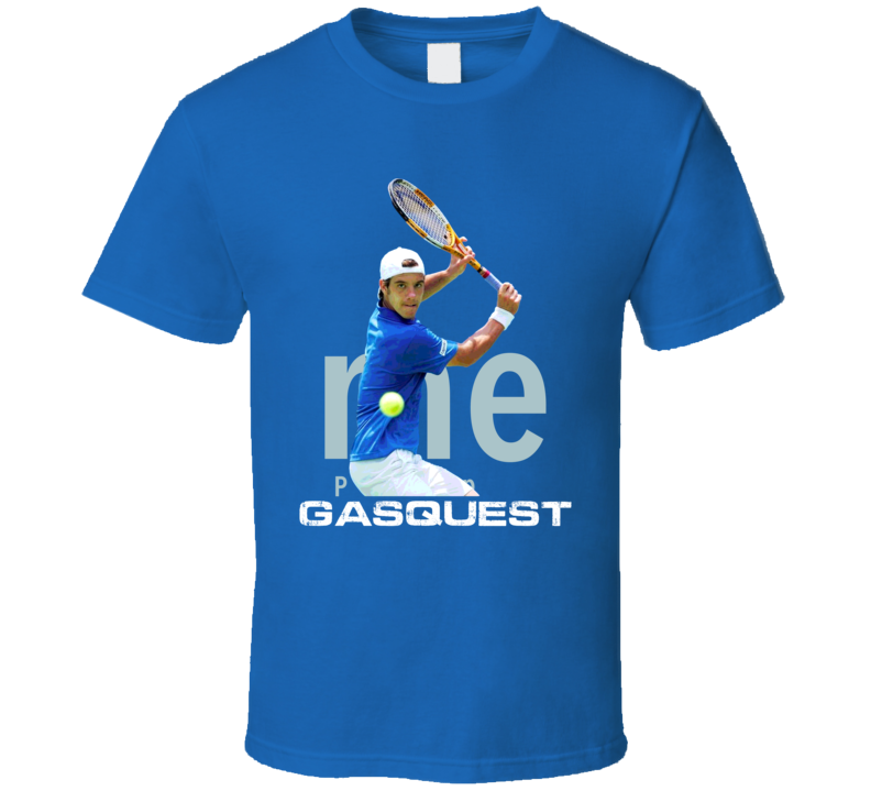 Richard Gasquet France Tennis Sports T Shirt