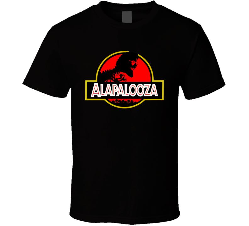 Alapalooza Weird Al Yankovic Music Album Group Cool T Shirt