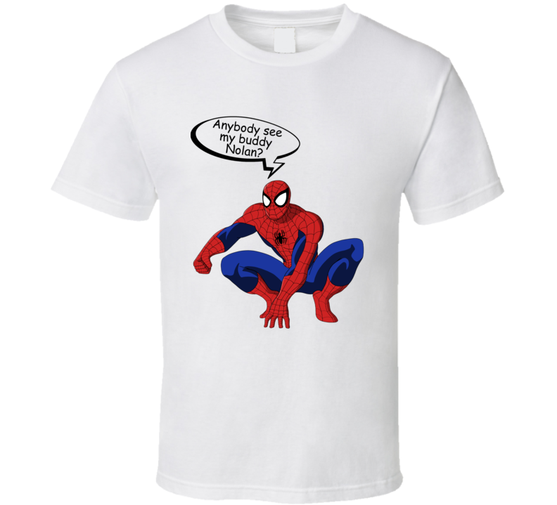 Spiderman Buddy Nolan T Shirt