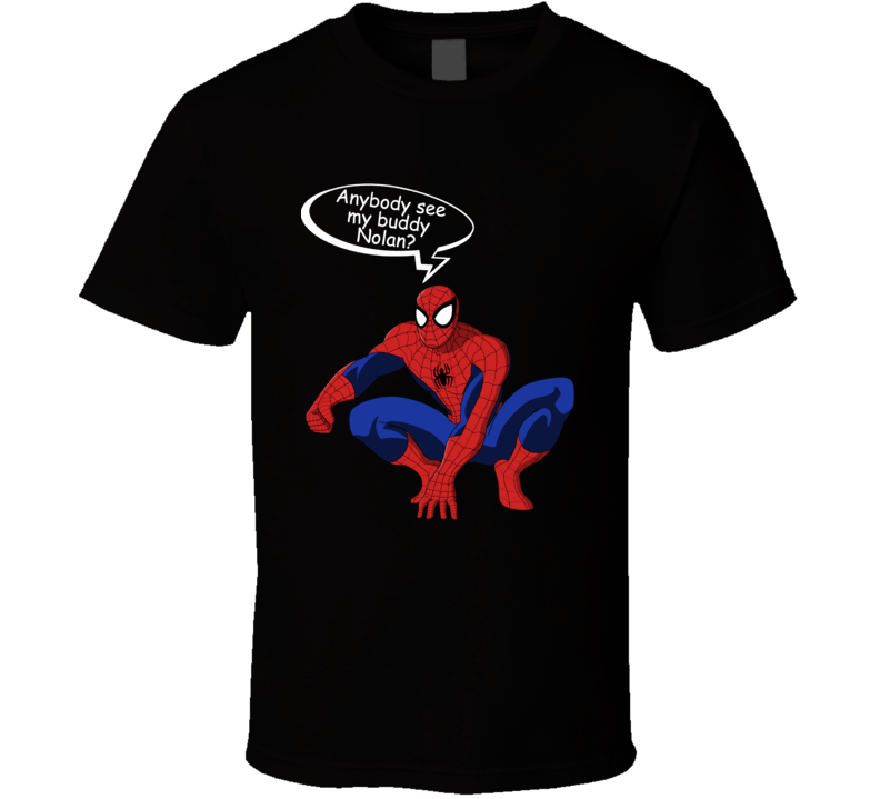 Spiderman Buddy Nolan Cool T Shirt