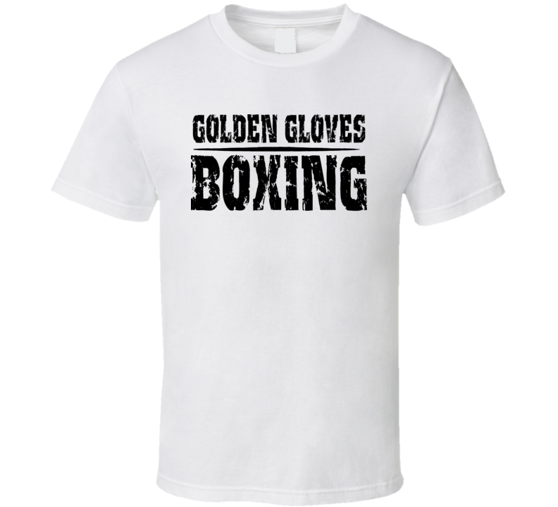 Golden Gloves Boxing Competition Cool T Shirt