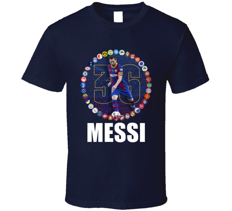 Lionel Messi Barcelona Soccer Fan Cool T Shirt