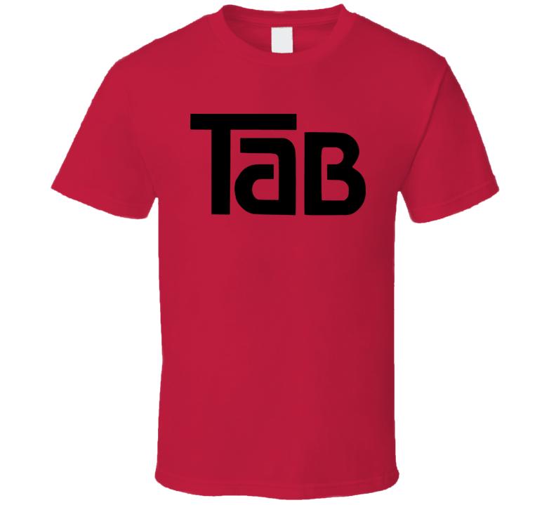 Tab Cola Soft Drink Soda Pop T Shirt