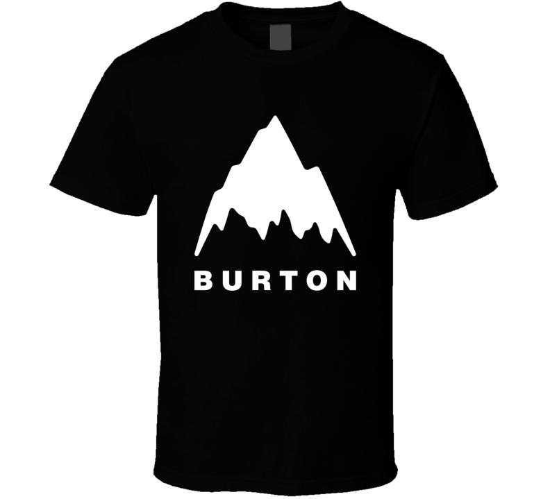 Burton Snowboarding Sport T Shirt