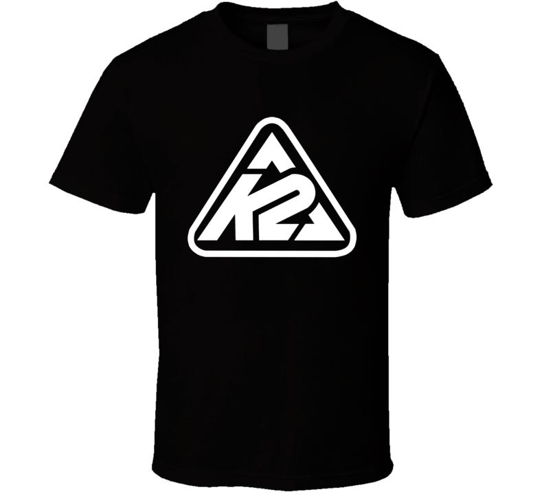K2 Whitelines Snowboarding Cool T Shirt