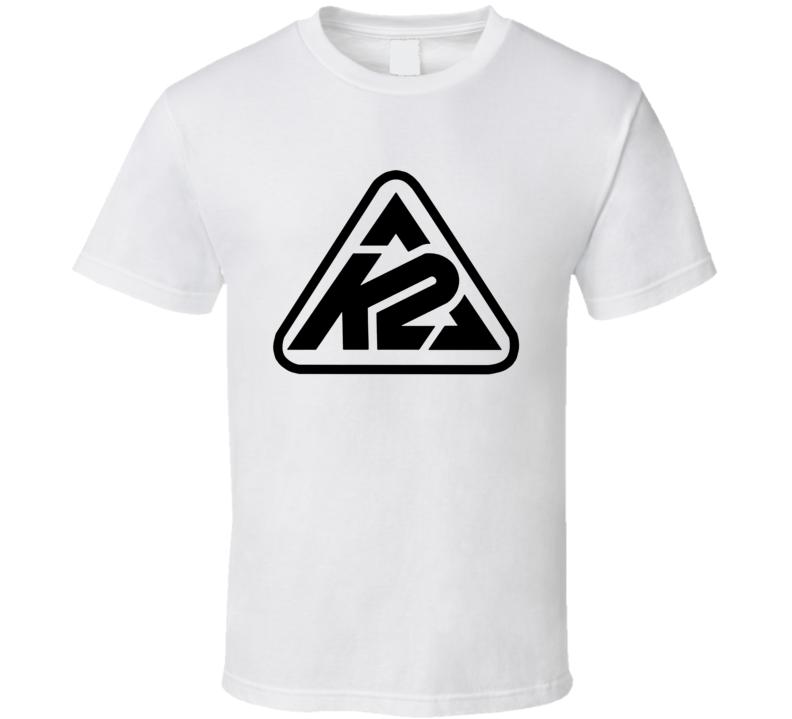 K2 Whitelines Snowboarding T Shirt
