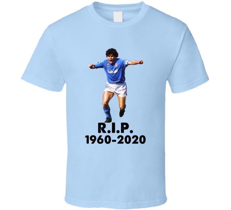 Diego Maradona Tribute Argentina Soccer Fan T Shirt