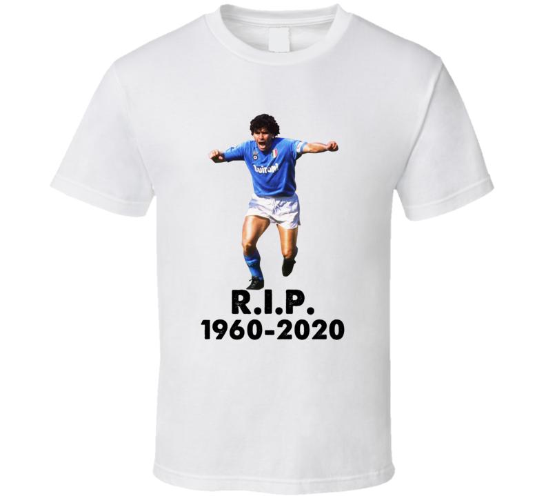 Diego Maradona Tribute Argentina Soccer T Shirt