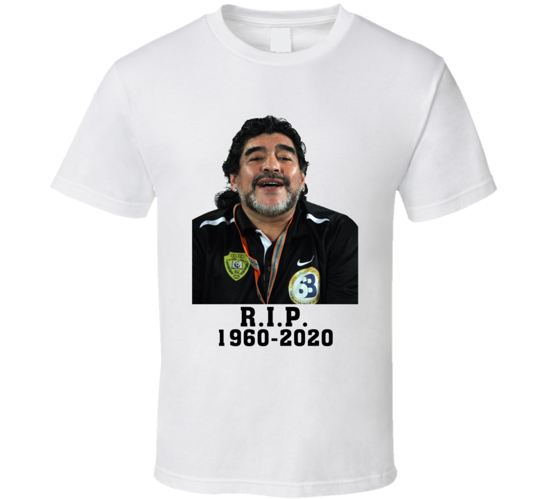 Diego Maradona Tribute Argentina Cool Soccer T Shirt