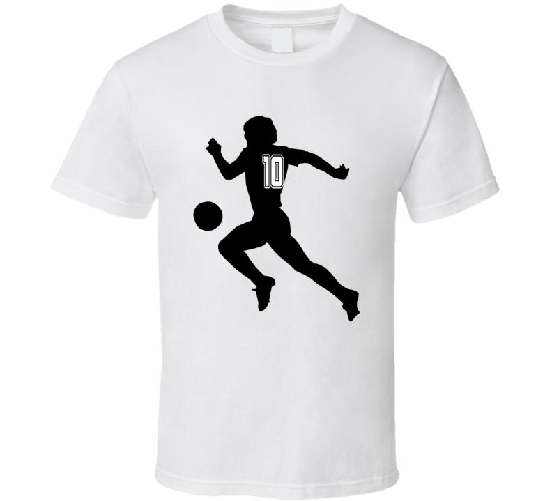 Diego Maradona Argentina Legend Soccer T Shirt