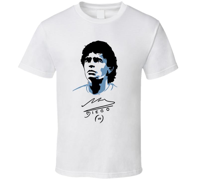 Diego Maradona Argentina Soccer Legend T Shirt
