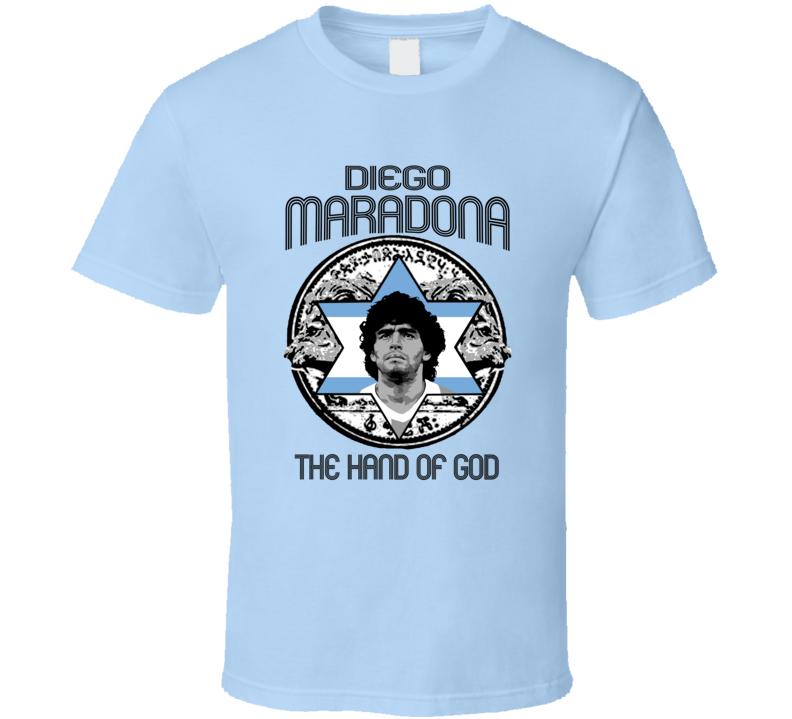 Diego Maradona Soccer Legend Argentina T Shirt