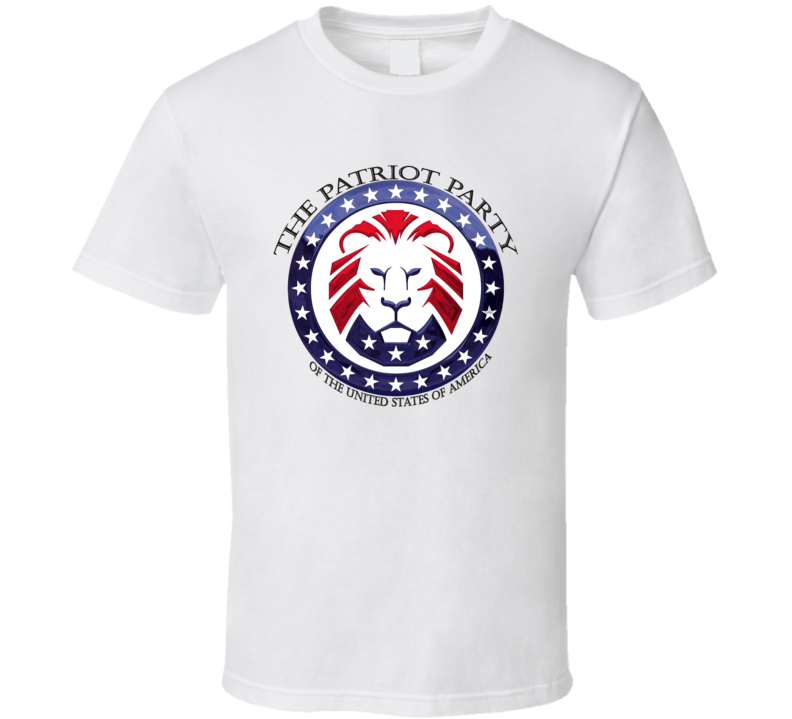 Patriot Party Of The United States Of America T Shirt