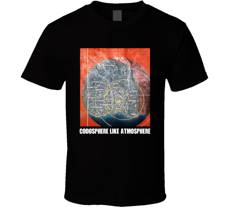 Call Of Duty Codosphere Like Atmosphere T Shirt