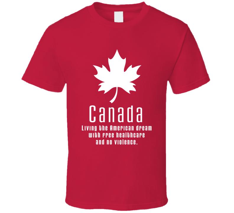 Canada Pride Cool T Shirt