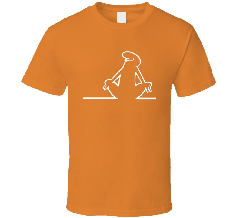 La Linea The Line Meditates Animated Series Fan T Shirt