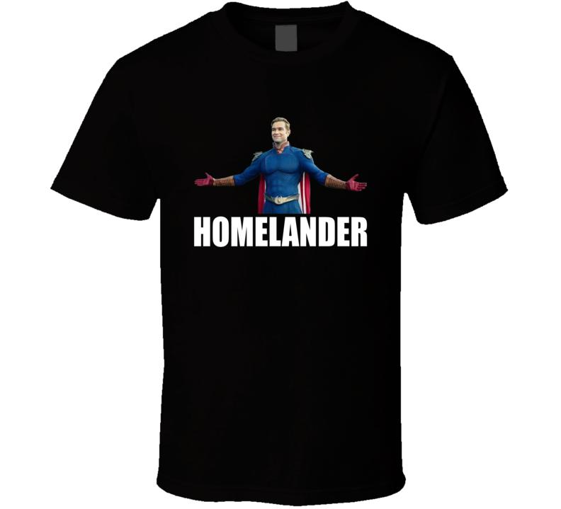 Homelander The Boys Superheroes Comic Book  Tv Show T Shirt