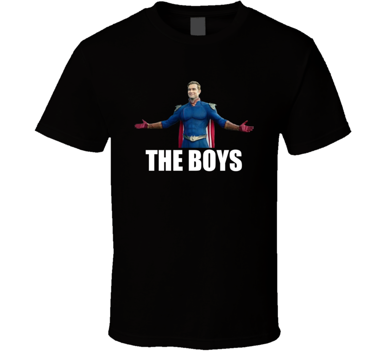 Homelander The Boys Superheroes Comic Book Tv Series T Shirt