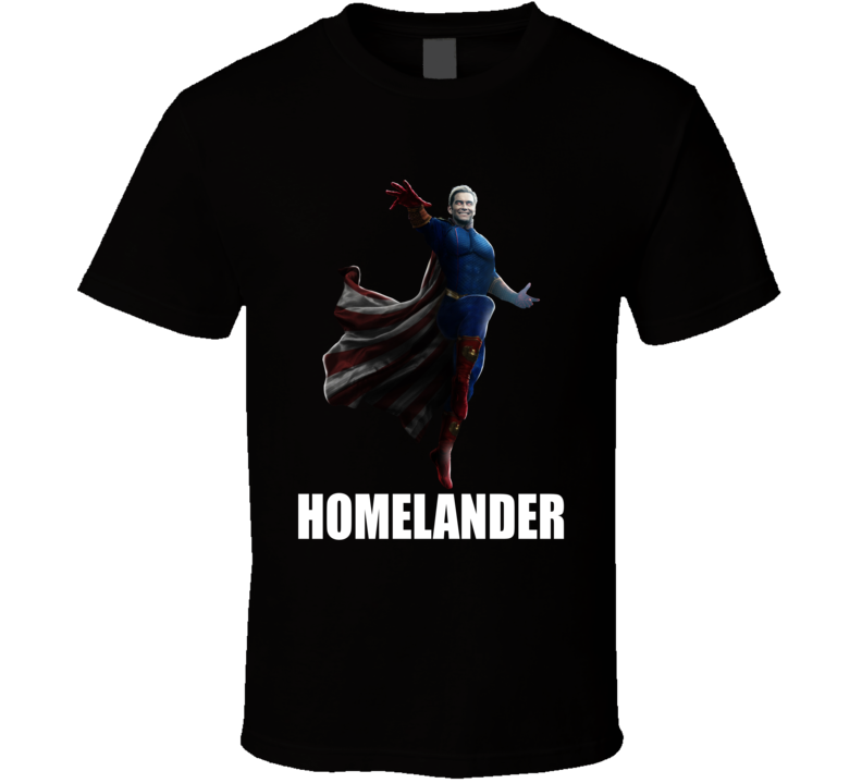 Homelander The Boys Comic Tv Series T Shirt