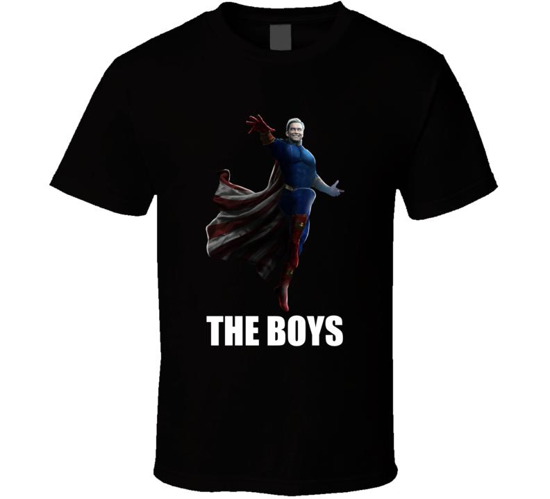Homelander The Boys Superheroes Comic Tv Show T Shirt